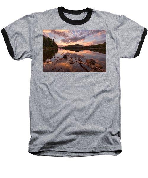 Kettle Pond Sunset Baseball T-Shirt