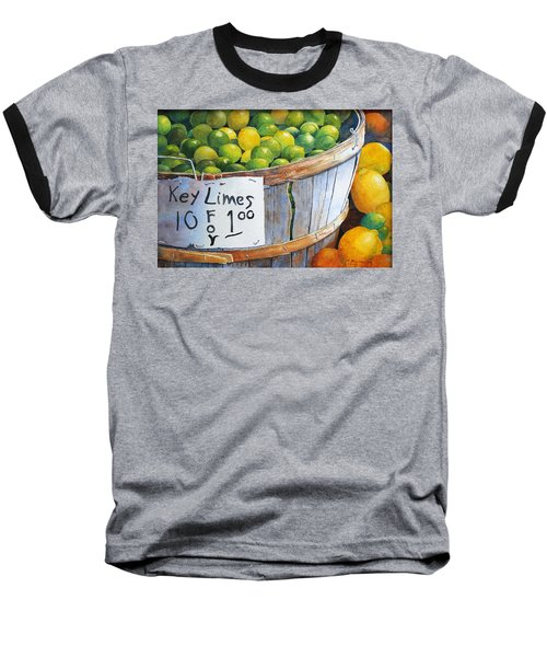 Key Limes Ten For A Dollar Baseball T-Shirt
