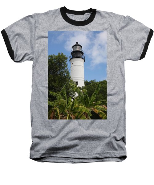 Baseball T-Shirt featuring the photograph Key West Lighthouse  by Christiane Schulze Art And Photography