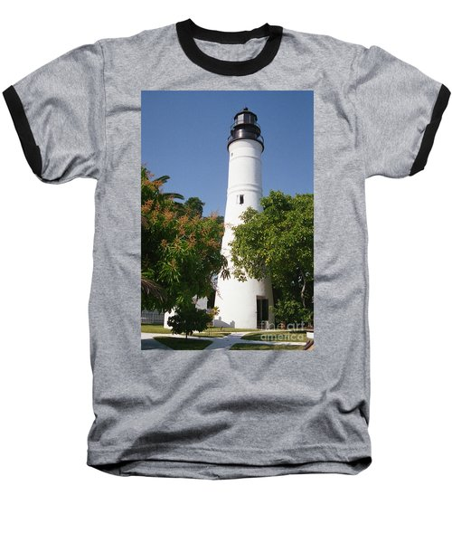 Key West Lighthouse Baseball T-Shirt