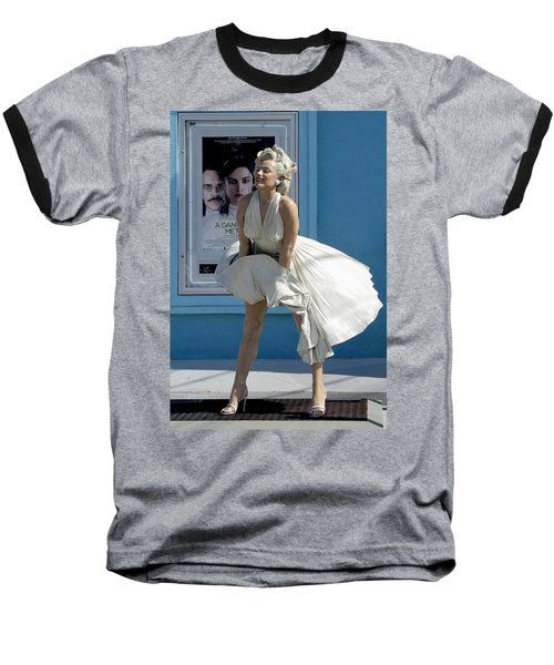 Key West Marilyn Baseball T-Shirt