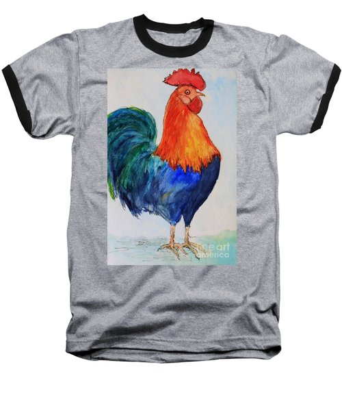 Key West Rooster Baseball T-Shirt