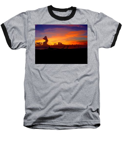 Baseball T-Shirt featuring the photograph Key West Sun Set by Iconic Images Art Gallery David Pucciarelli