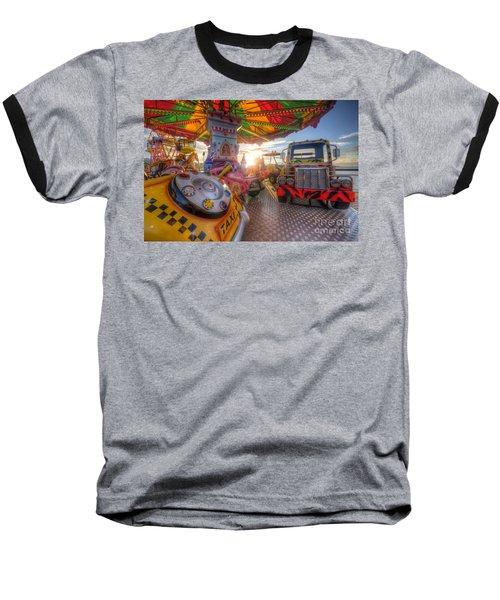 Kiddie Rides Baseball T-Shirt