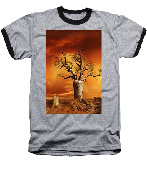 Kimberley Dreaming Baseball T-Shirt