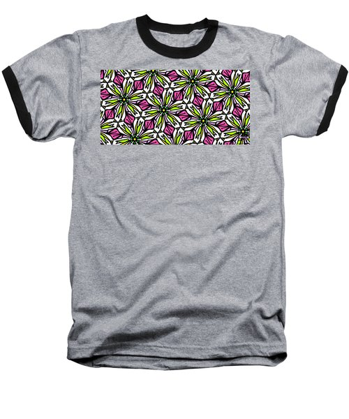 Baseball T-Shirt featuring the digital art Kind Of Cali-lily by Elizabeth McTaggart