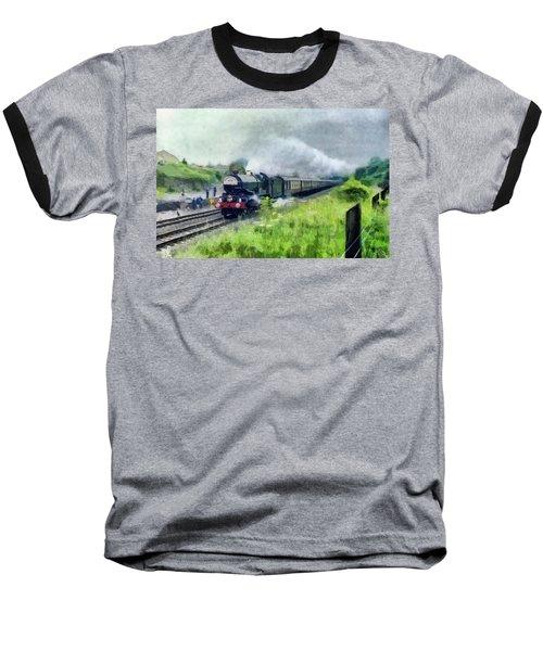 'king George V' Locomotive Baseball T-Shirt