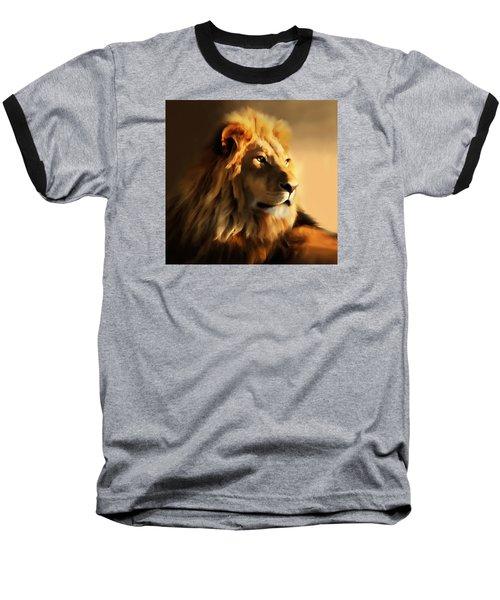 King Lion Of Africa Baseball T-Shirt