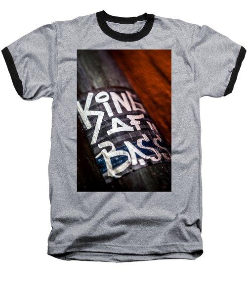 Baseball T-Shirt featuring the photograph King Of Bass by Sennie Pierson