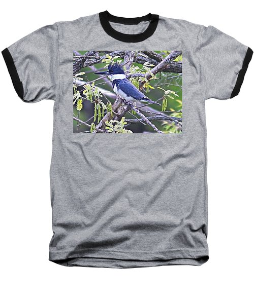 Baseball T-Shirt featuring the photograph King Of The Tree by Elizabeth Winter
