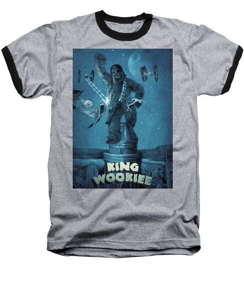 King Wookiee Baseball T-Shirt by Eric Fan