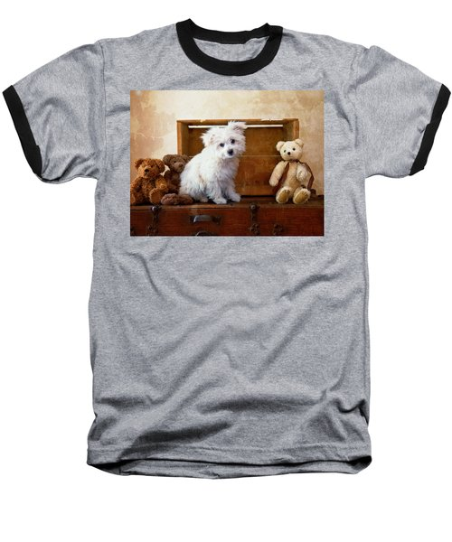Baseball T-Shirt featuring the photograph Kip And Friends by Toni Hopper