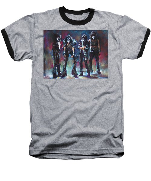 Kiss Baseball T-Shirt