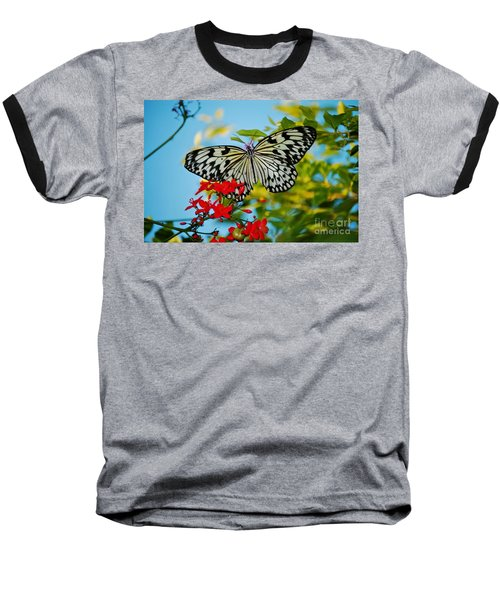Kite Butterfly Baseball T-Shirt