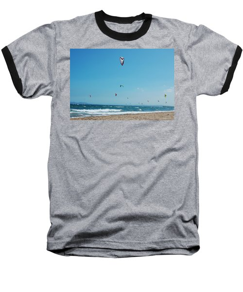 Kitesurf Lovers Baseball T-Shirt