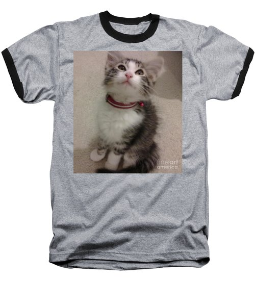 Kitty - Forgotten Innocence Baseball T-Shirt