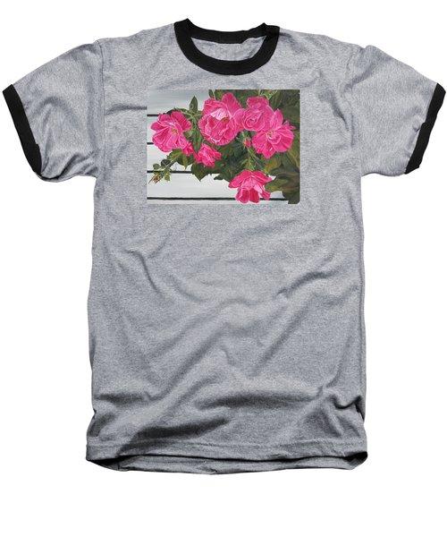 Knock Out Roses Baseball T-Shirt