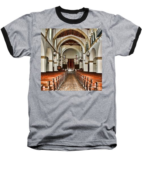 Knowles Memorial Chapel Rollins College 2 By Diana Sainz Baseball T-Shirt