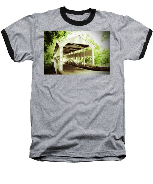 Knox Bridge Baseball T-Shirt by Michael Porchik
