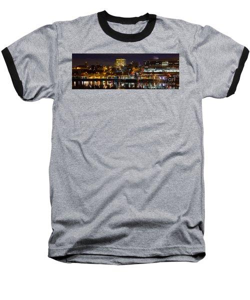 Knoxville Waterfront Baseball T-Shirt by Douglas Stucky