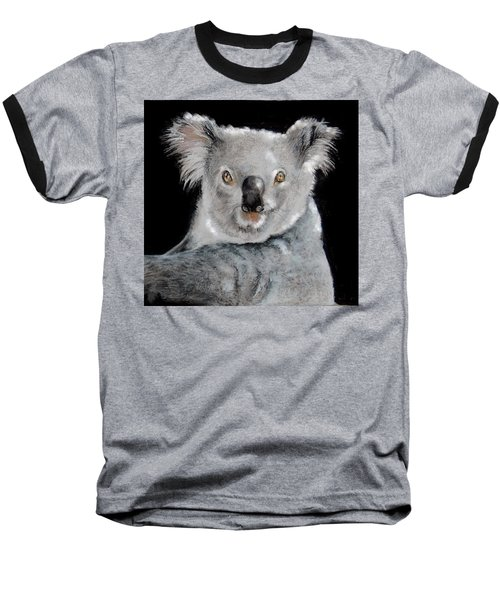 Koala Baseball T-Shirt by Jean Cormier