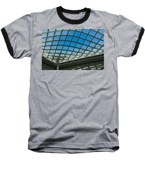 Kogod Courtyard Ceiling #3 Baseball T-Shirt