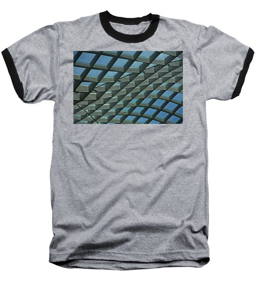 Kogod Courtyard Ceiling #6 Baseball T-Shirt