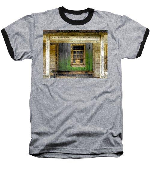 Kohala Mule Station Baseball T-Shirt