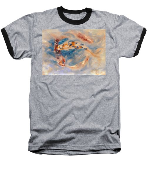 Koi Circle Baseball T-Shirt