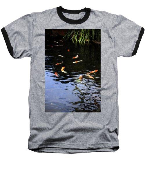 Koi Fish Baseball T-Shirt