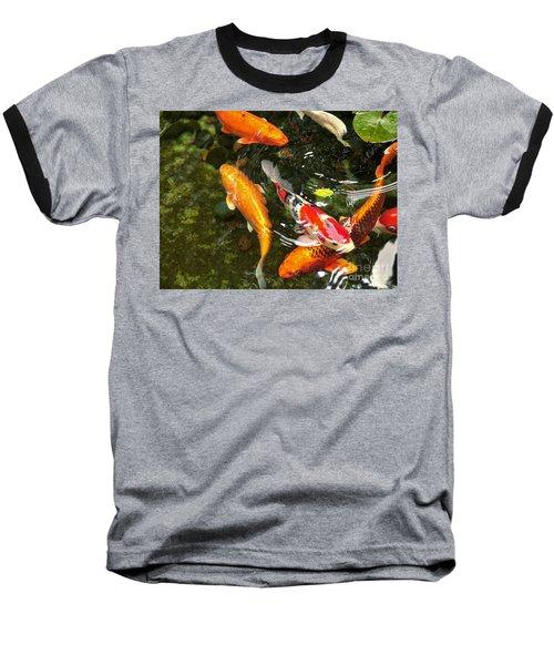 Koi Fish Japan Baseball T-Shirt