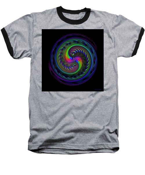 Koi Yin Yang Baseball T-Shirt