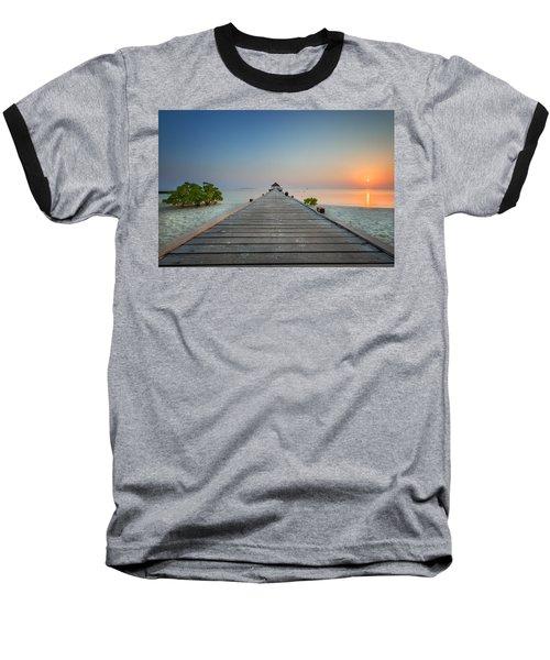 Komandoo Sunrise Baseball T-Shirt