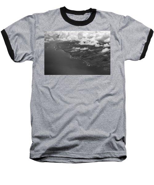 Kona And Clouds Baseball T-Shirt