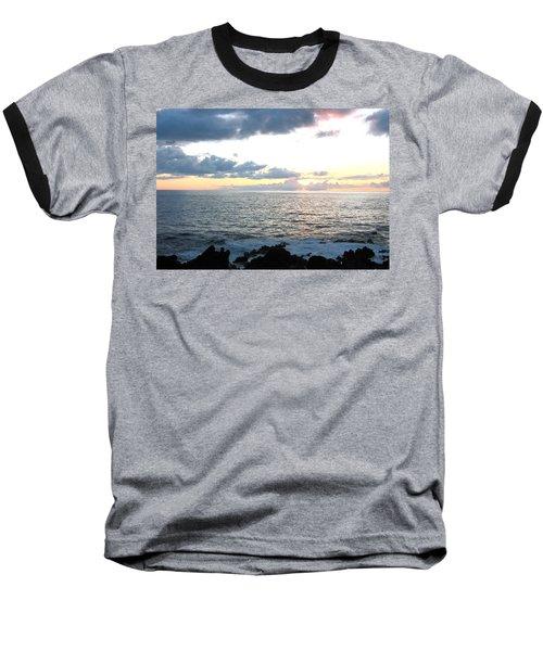 Baseball T-Shirt featuring the photograph Kona  North by Angela J Wright