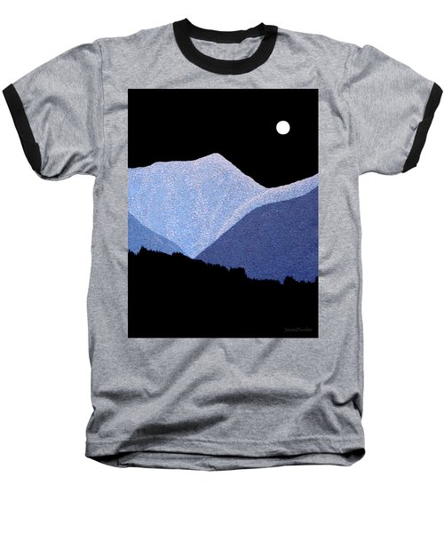Kootenay Mountains Baseball T-Shirt