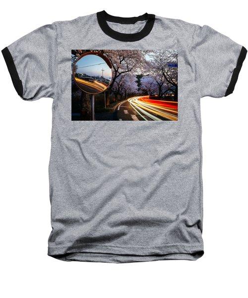 Korea's Roadside Blossoms Baseball T-Shirt