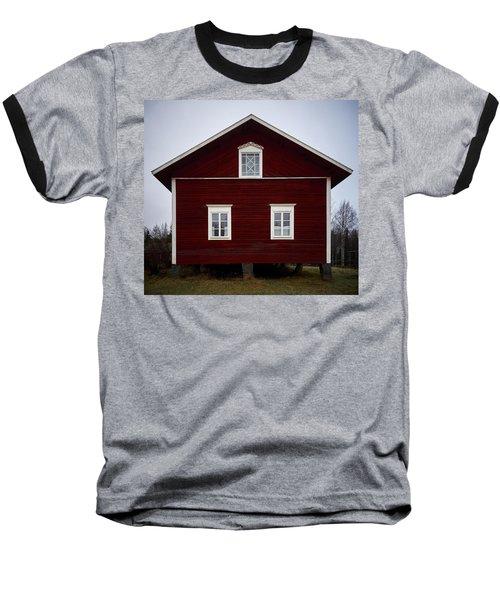 Kovero Main House Baseball T-Shirt by Jouko Lehto