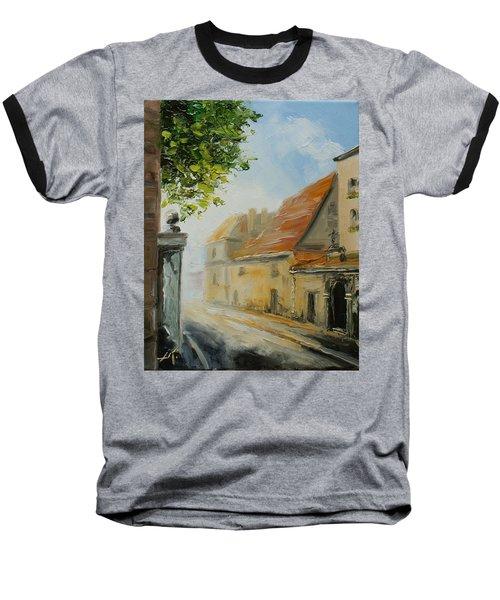 Krakow- Reformacka Street Baseball T-Shirt