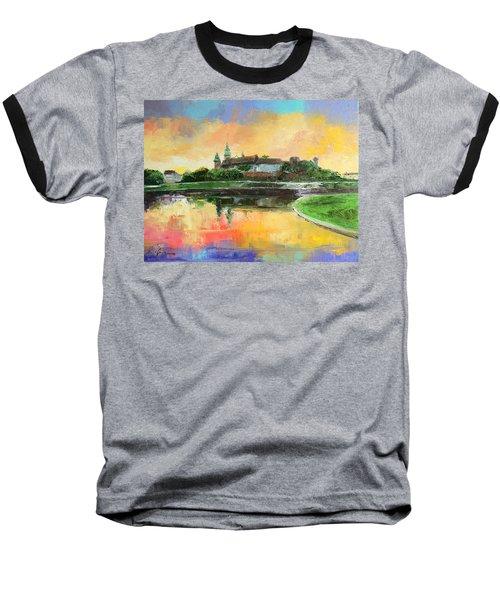 Krakow - Wawel Castle Baseball T-Shirt