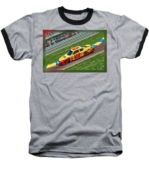 Kurt Busch Baseball T-Shirt