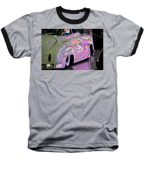 Kustom Neon Reflections Baseball T-Shirt
