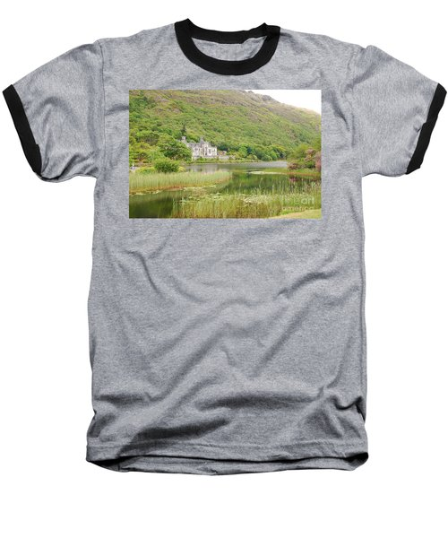 Baseball T-Shirt featuring the photograph Kylemore Abbey 1 by Mary Carol Story