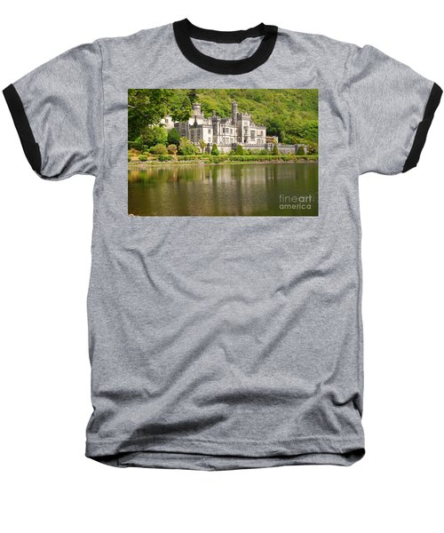 Baseball T-Shirt featuring the photograph Kylemore Abbey 2 by Mary Carol Story