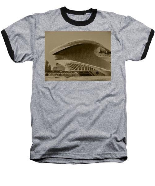 L' Hemisferic - Valencia Baseball T-Shirt