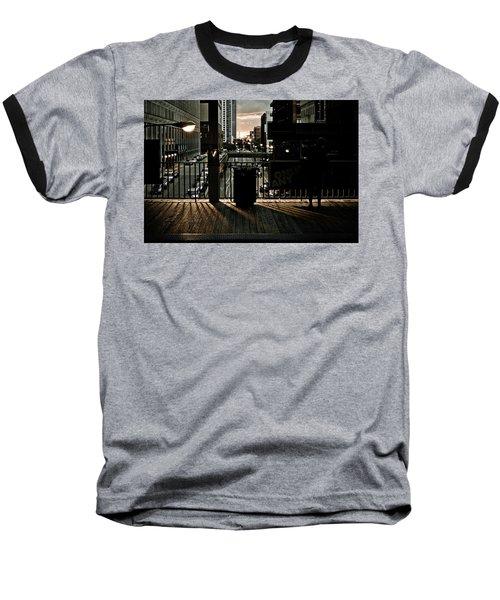 L Platform At Dusk Baseball T-Shirt