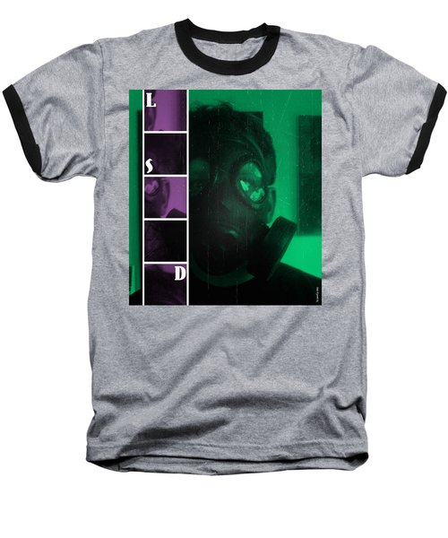 Baseball T-Shirt featuring the photograph L S D  Part Two by Sir Josef - Social Critic - ART