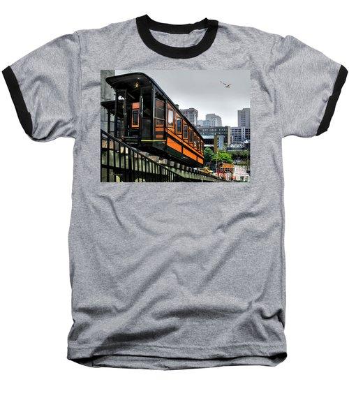 Los Angeles Angels Flight Baseball T-Shirt by Jennie Breeze