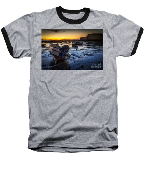La Caleta Beach Cadiz Spain Baseball T-Shirt