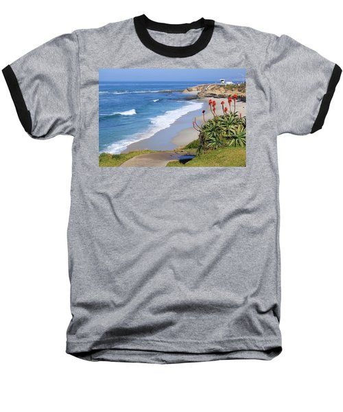 La Jolla Beach Baseball T-Shirt